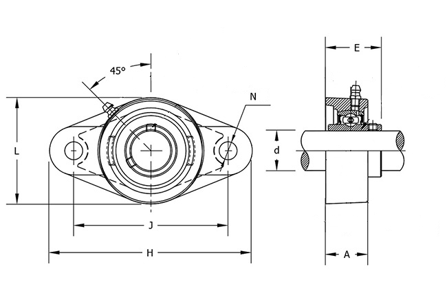 ucfl210-31 bearing diagram