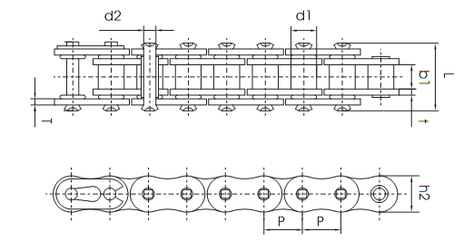 60 o ring roller chain diagram