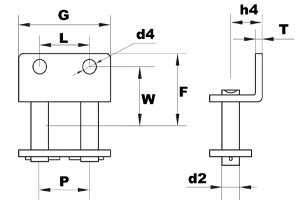 wa2 attachment connecting link diagram