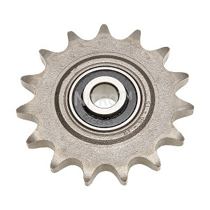 Picture may not depict actual tooth count or actual style of idler sprocket